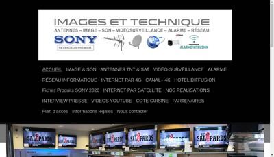 Site internet de Images et Technique