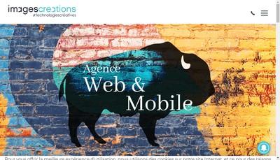 Site internet de Images Creations