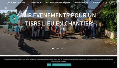 Site internet de Les Imaginations Fertiles