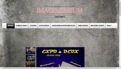 Site internet de Imaginearium