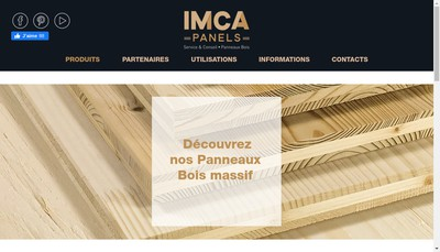 Site internet de Imca Panels