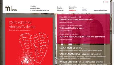 Site internet de Institut Memoires Edition Contemporaine