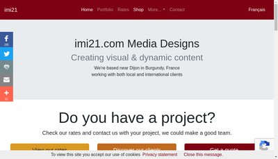 Site internet de Imi21 Com