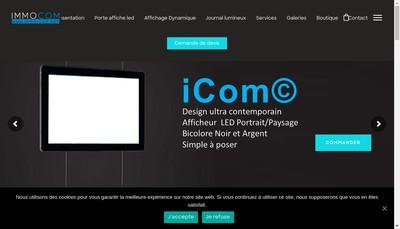 Site internet de Immo-Com Net