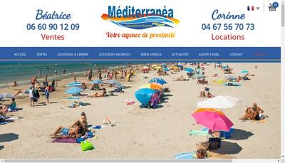 Site internet de Mediterranea