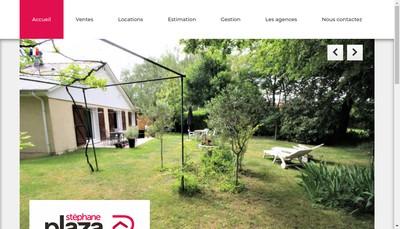 Site internet de Stephaneplaza Immobilier