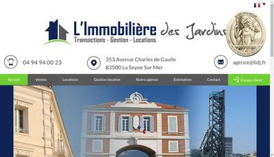 Site internet de Agence Rapallino