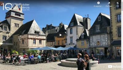 Site internet de L'Immobilier Quimperois