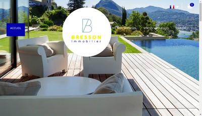 Site internet de Agence Bresson - Immo Bresson