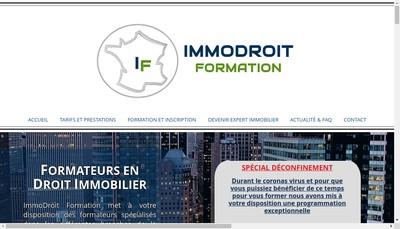 Site internet de Immodroit