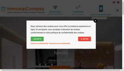 Site internet de Compagnie Parisienne D 'Expertise Compta