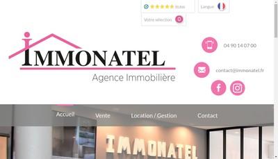 Site internet de Immonatel