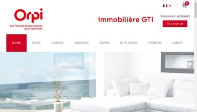 Site internet de Immobiliere Gestion Transaction Investissement