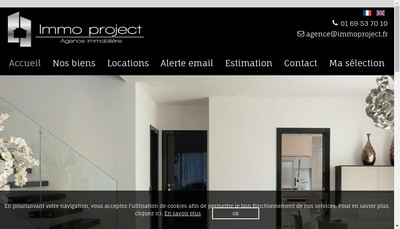 Site internet de Immo Project