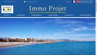 Site internet de Immo Projet Christian Blestel