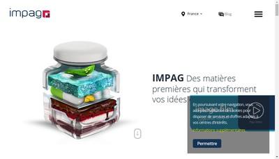 Site internet de Impag France