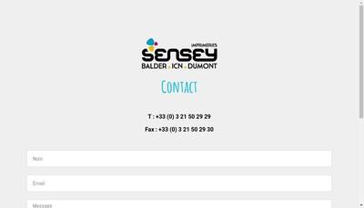 Site internet de Imprimerie Sensey