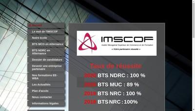 Site internet de imscof