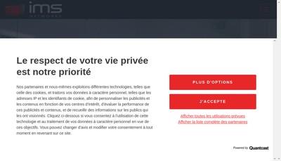 Site internet de Saem Intermediasud