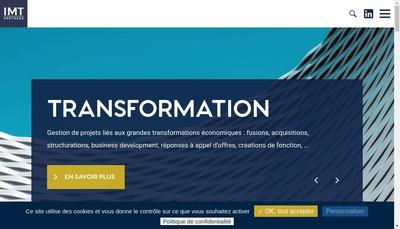 Site internet de Imt - Partners