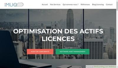 Site internet de Imuo