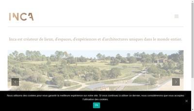 Site internet de Innovation Creation et Architecture