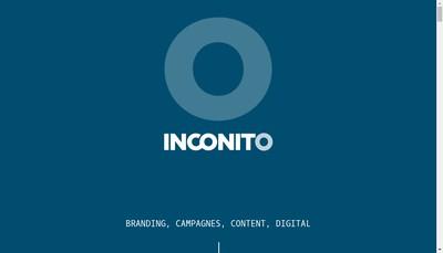 Site internet de Inconito