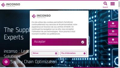 Site internet de Korber Supply Chain Lyon