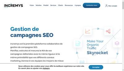 Site internet de Maintpress