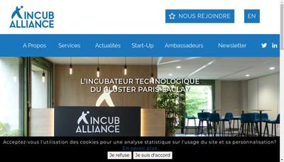 Site internet de Incuballiance