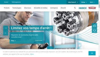 Site internet de Index France SARL