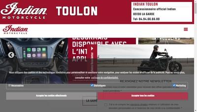 Site internet de Indian-Victory Toulon