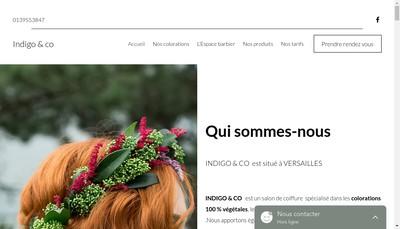 Site internet de Indigo & Co