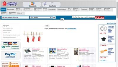 Site internet de Indipc