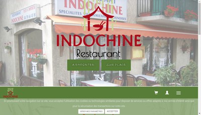 Site internet de L'Indochine