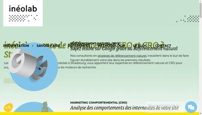 Site internet de Ineolab