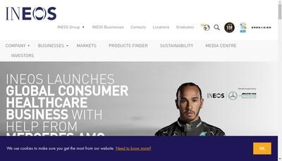 Site internet de Ineos France SAS