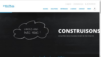 Site internet de Info Plus