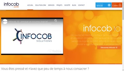 Site internet de Infocob