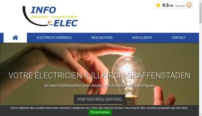 Site internet de Info Elec