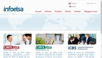 Site internet de Infoelsa