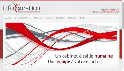 Site internet de Infogestion