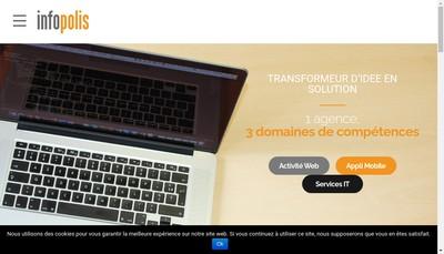 Site internet de Infopolis