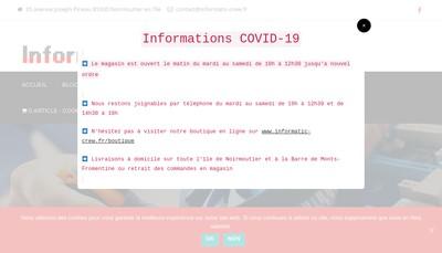 Site internet de Pc Upgrade