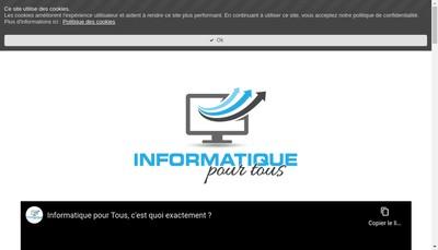 Site internet de Egloff Christophe - Informatique pour Tous