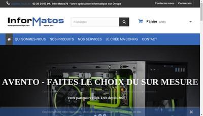 Site internet de Informatos 76