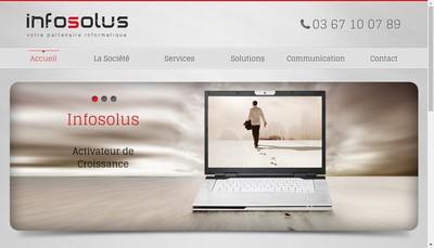 Site internet de Infosolus
