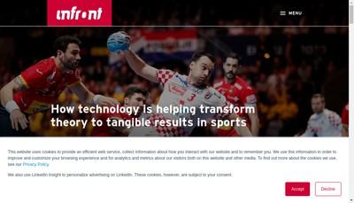 Site internet de Infront France