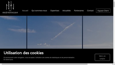 Site internet de Ingefinance 64