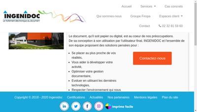 Site internet de Ingenidoc